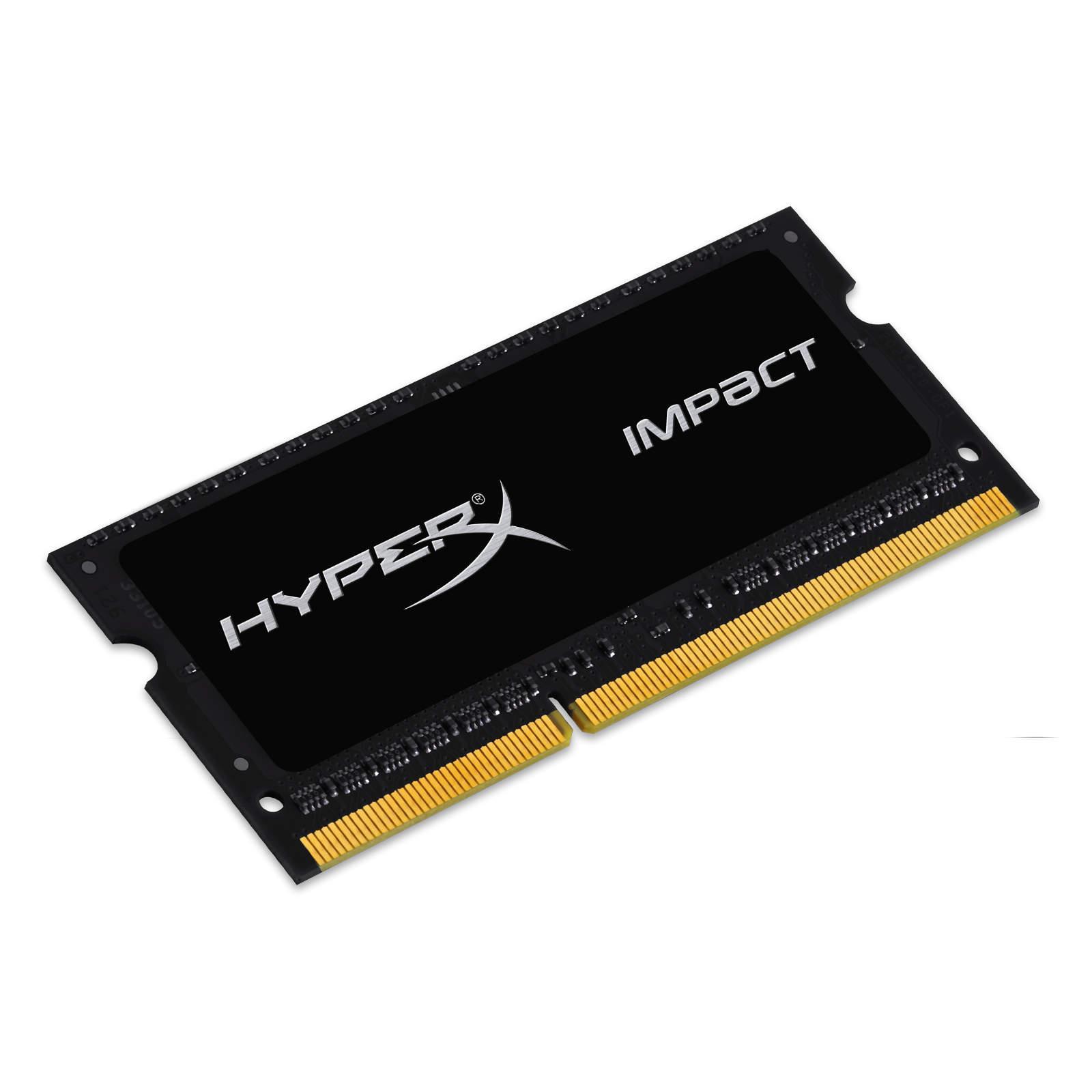 Модуль памяти для ноутбука SoDIMM DDR3L 4GB 2133 MHz HyperX (Kingston Fury) (HX321LS11IB2/4) изображение 2