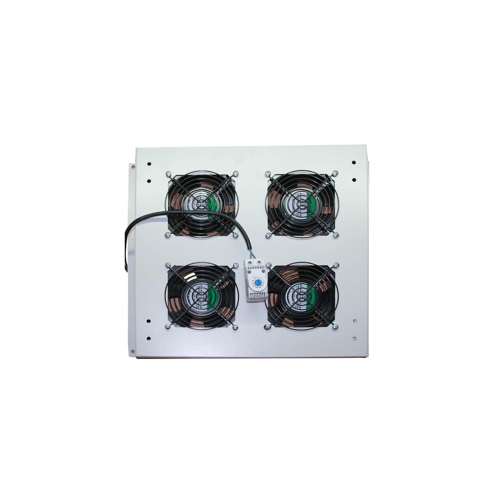 Вентиляторный модуль CSV 4 вентилятора для шкафа (00894)
