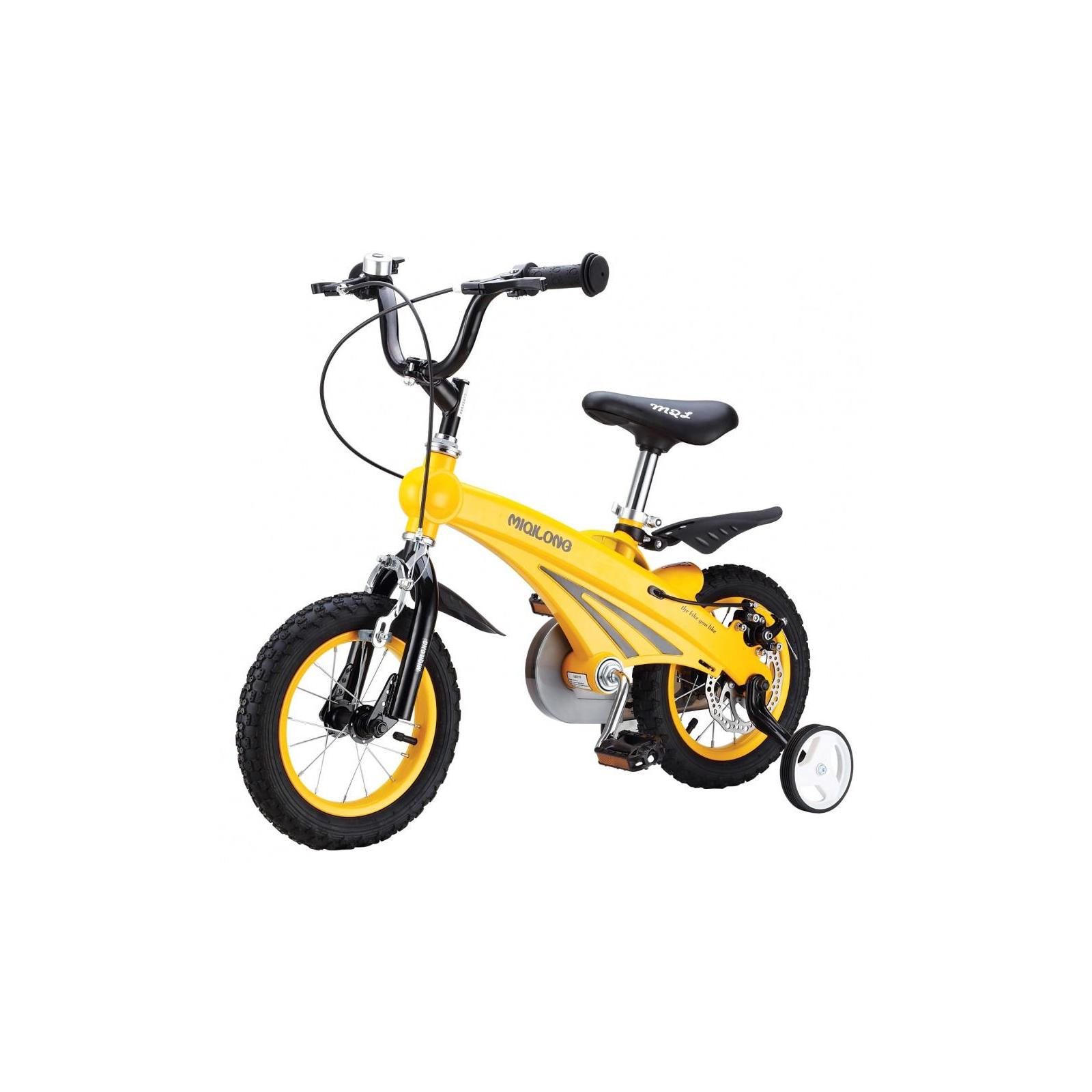 Детский велосипед Miqilong SD Желтый 12` (MQL-SD12-Yellow)