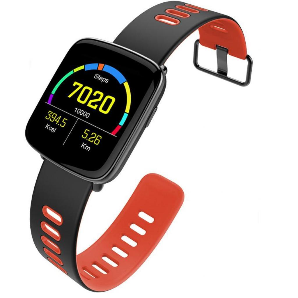 Смарт-часы Nomi W20 Black-Red изображение 6