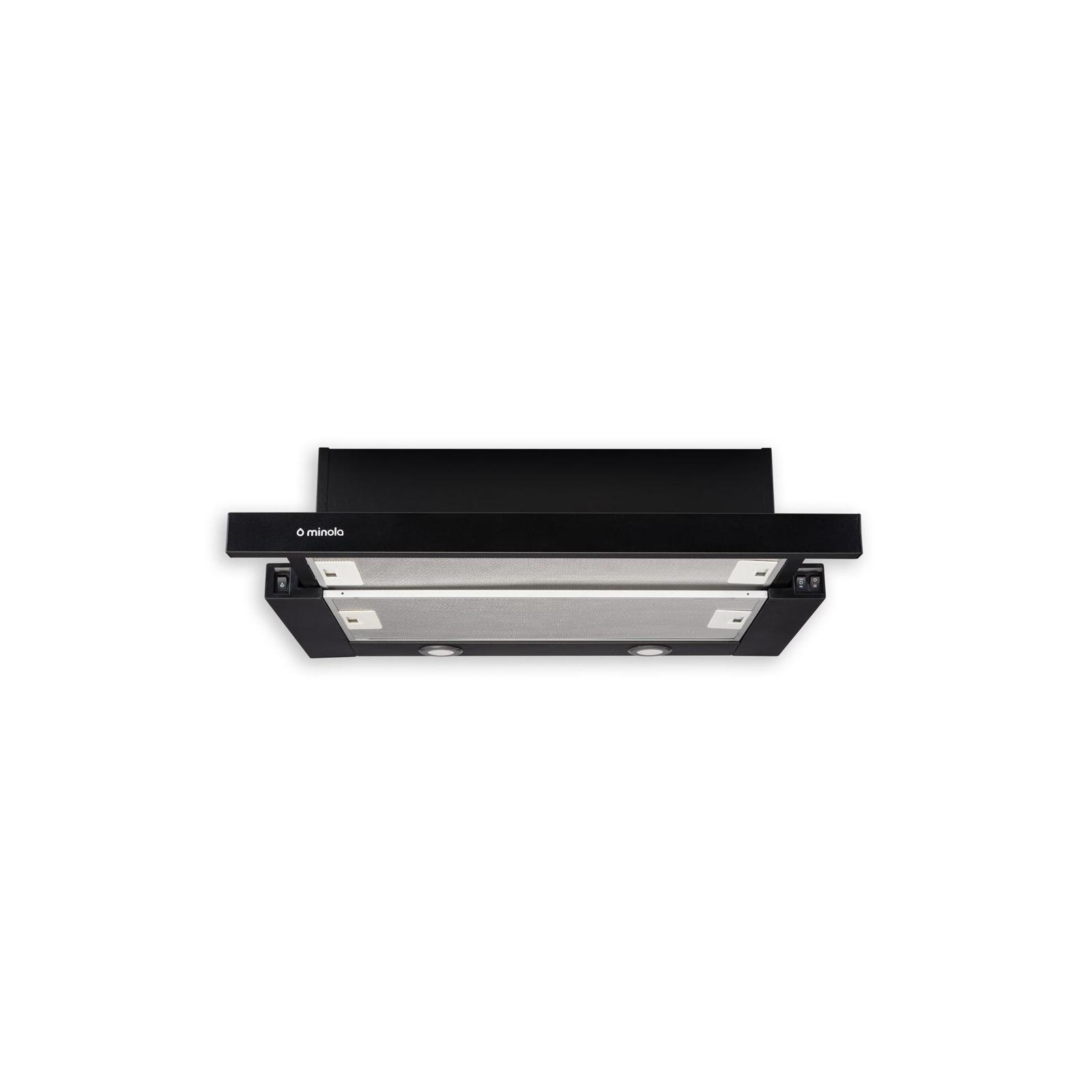 Вытяжка кухонная MINOLA HTL 6112 BL 650 LED изображение 2