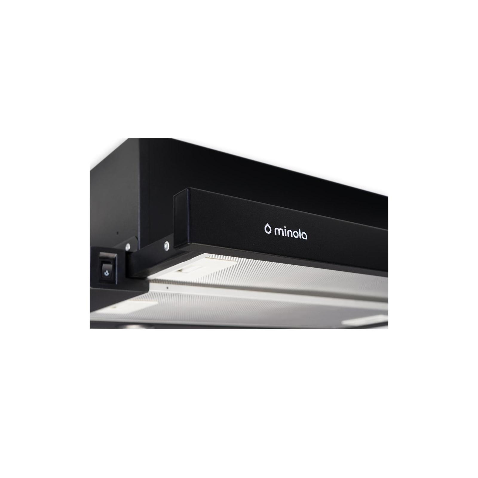 Вытяжка кухонная MINOLA HTL 6112 BL 650 LED изображение 4