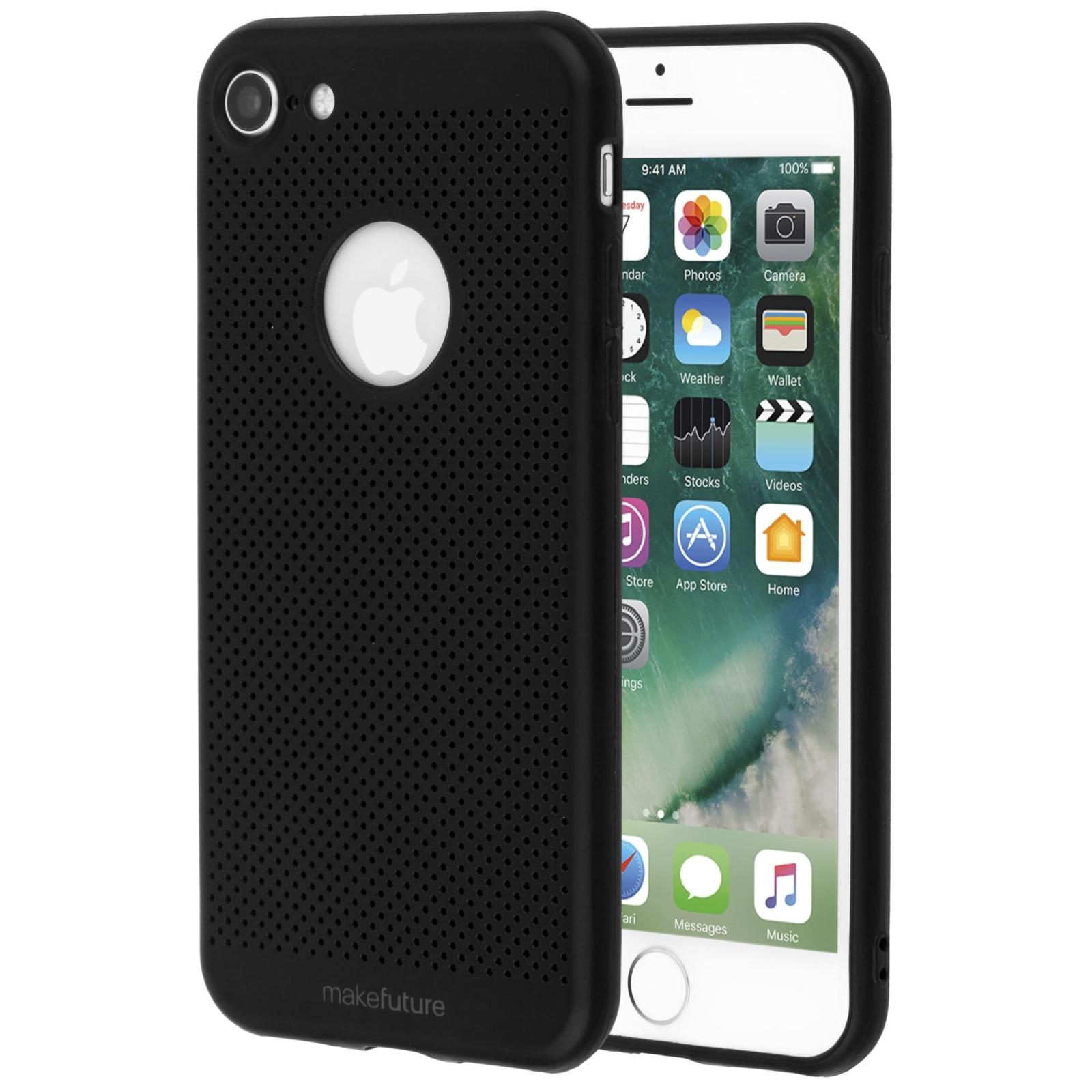 Чехол для моб. телефона MakeFuture Moon Case (TPU) для Apple iPhone 8 Black (MCM-AI8BK) изображение 2