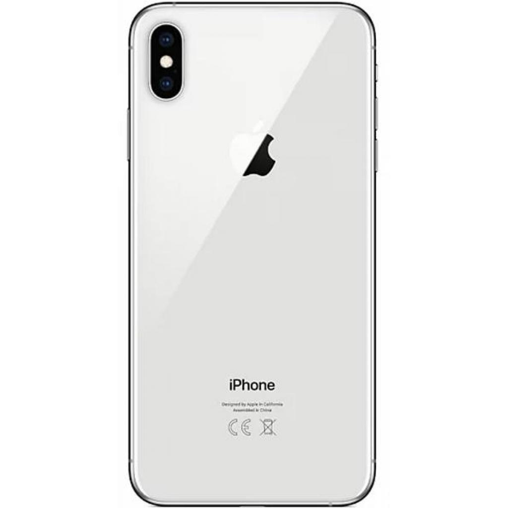 Мобильный телефон Apple iPhone XS MAX 64Gb Silver (MT512FS/A) изображение 2