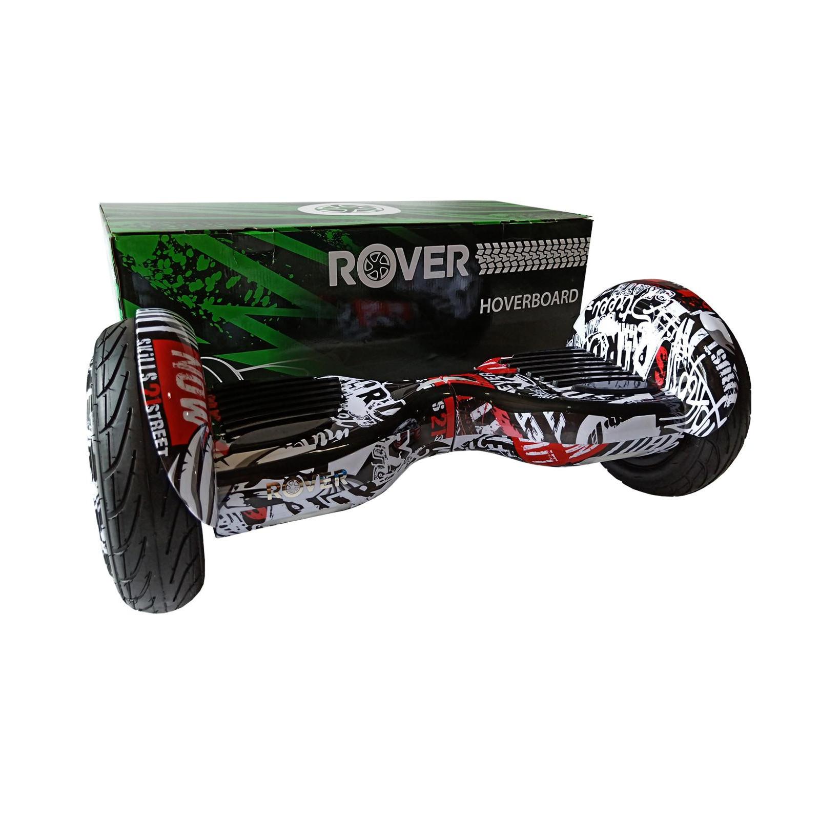 Гироборд Rover XL6 10.5 Grafitti white-red изображение 7