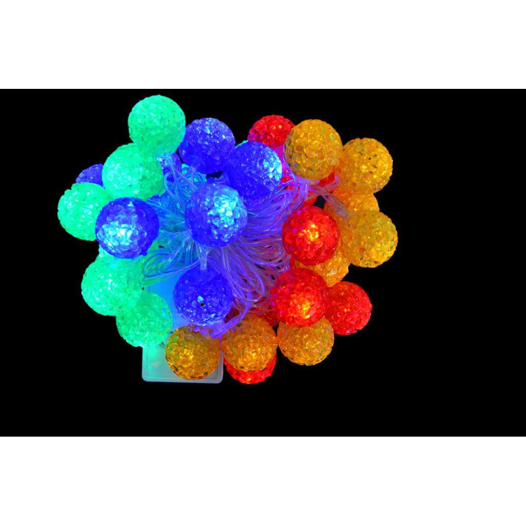 Гирлянда YES! Fun светод Ягоды, 40 ламп, многоц., 3 м (801075)