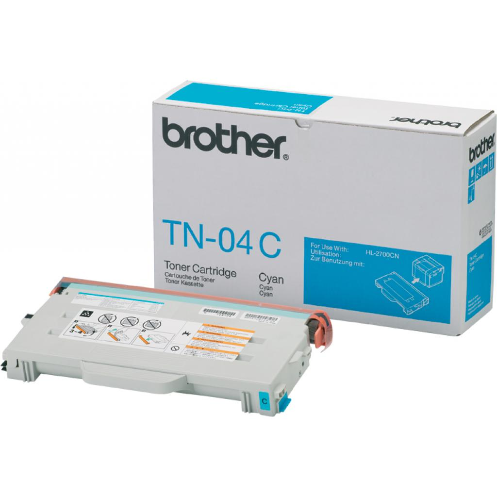 Картридж Brother для HL-2700CN, MFC-9420CN Cyan (TN04C)