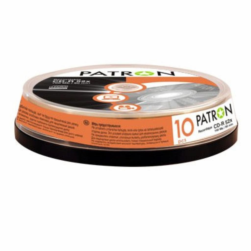 Диск CD PATRON 700Mb 52x Cake box 10шт (INS-C006)