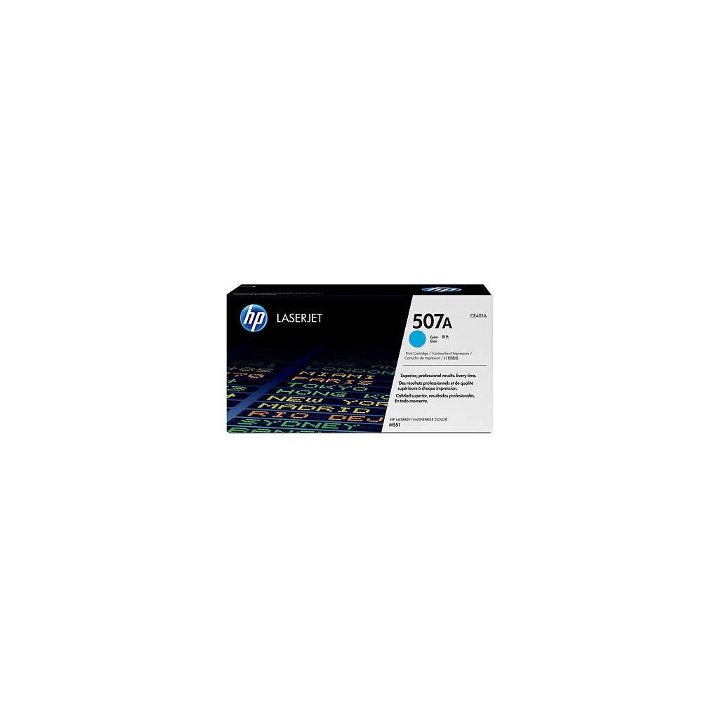 Картридж HP CLJ Enterprise 500 Color M551 cyan (CE401A)
