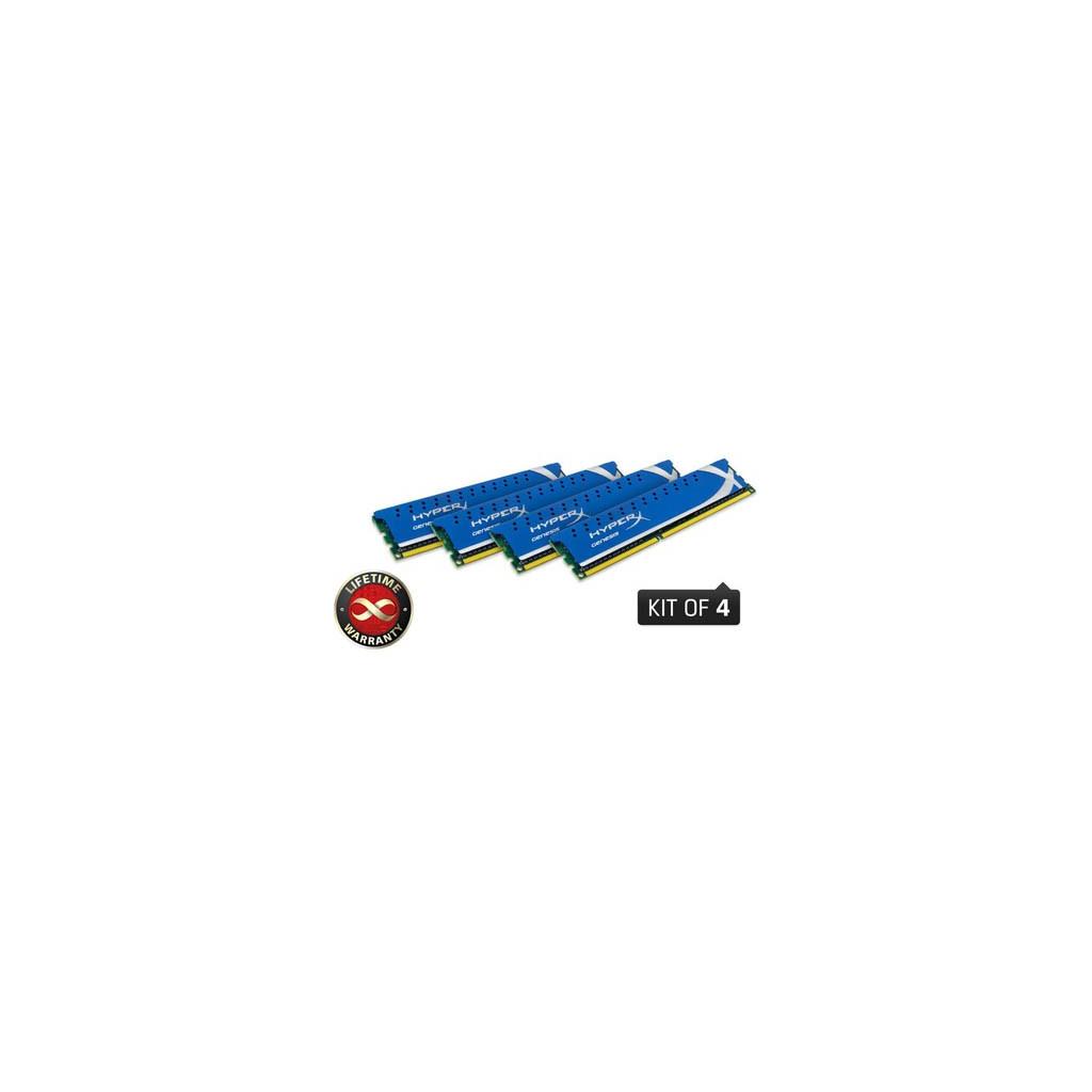 Модуль памяти для компьютера DDR3 8GB (4x2GB) 2133 MHz Kingston (KHX2133C11D3K4/8GX)