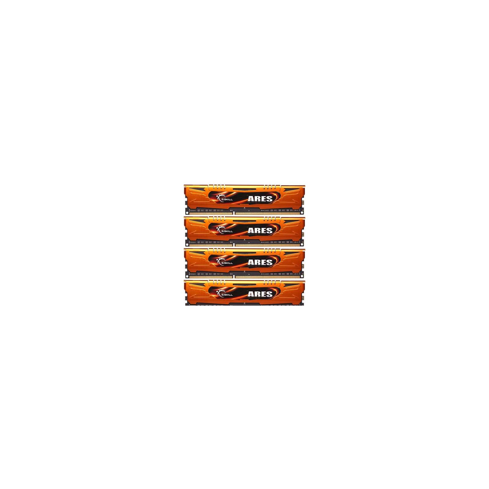 Модуль памяти для компьютера DDR3 16GB (4x4GB) 1600 MHz G.Skill (F3-1600C9Q-16GAO)