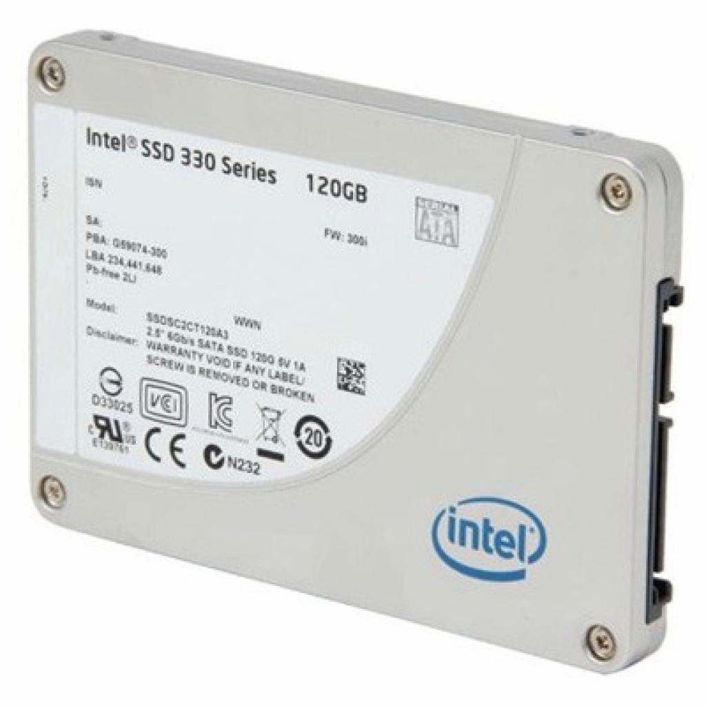 """Накопитель SSD 2.5"""" 120GB INTEL (SSDSC2CT120A3K5)"""