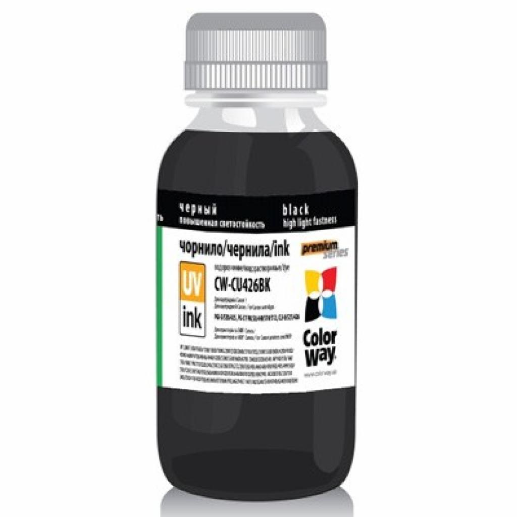 Чернила ColorWay Canon UV CLI-426 Black (CW-CU426Bk01)