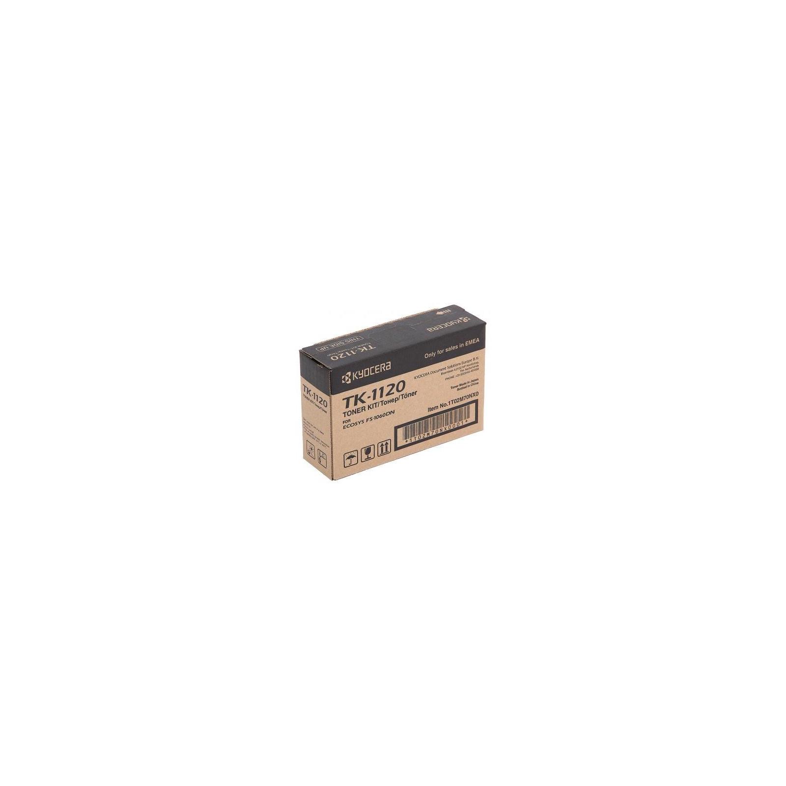Тонер-картридж Kyocera TK-1120 Для FS-1060, 1025/1125MFP (3K) (1T02M70NXV)