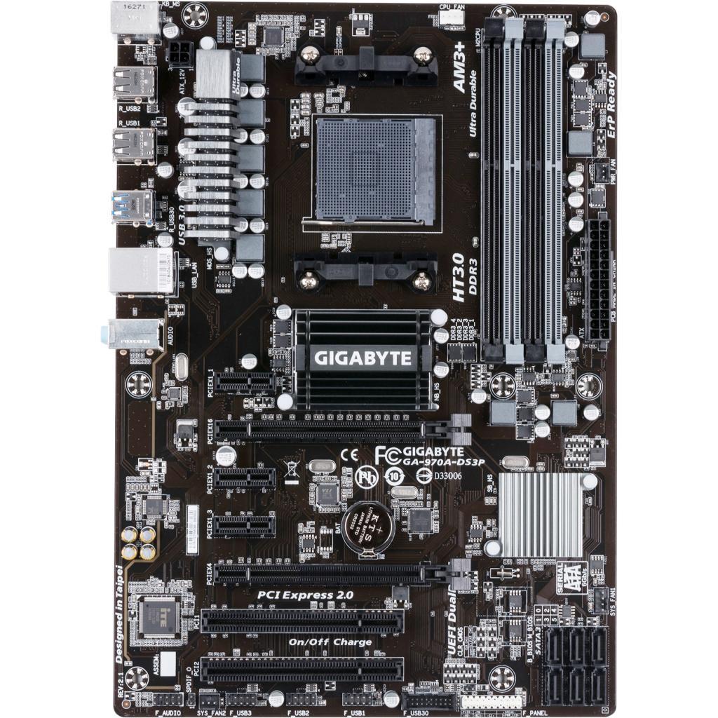 Материнская плата GIGABYTE GA-970A-DS3P изображение 2