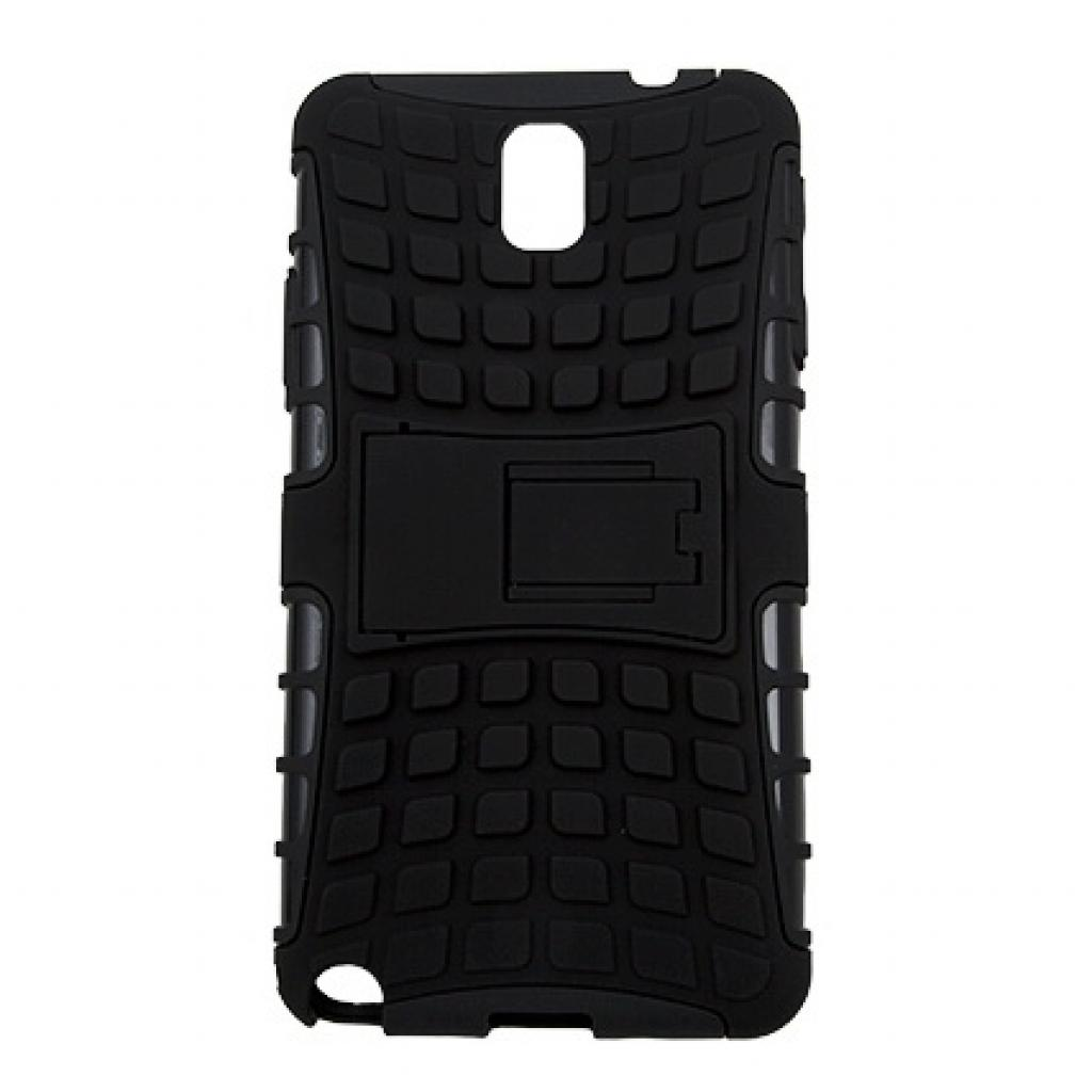 Чехол для моб. телефона Drobak для Samsung N9000 Galaxy Note3/Hybrid case/Black (216030)