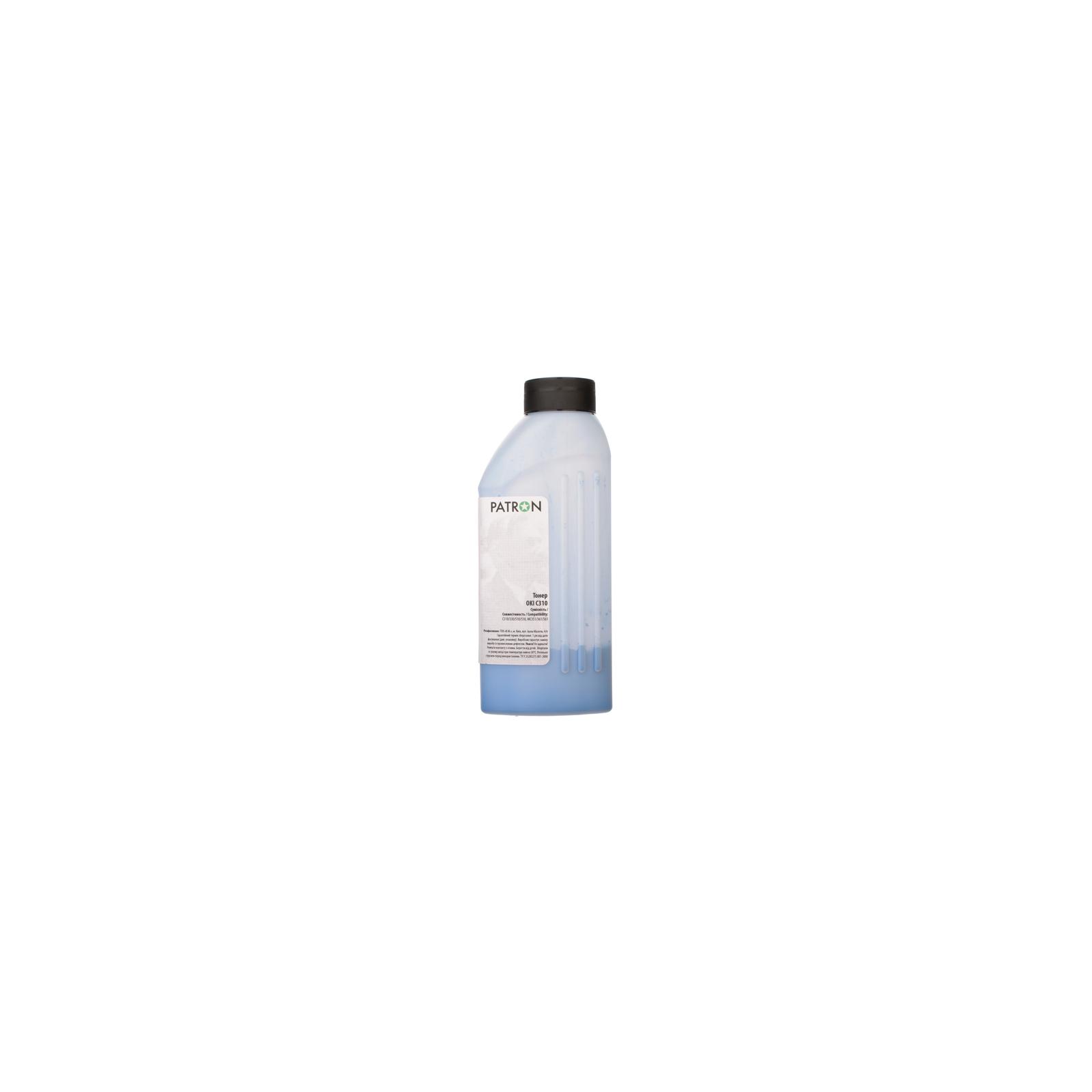 Тонер PATRON OKI C310 CYAN 50г (T-PN-OC310-C-050) изображение 2