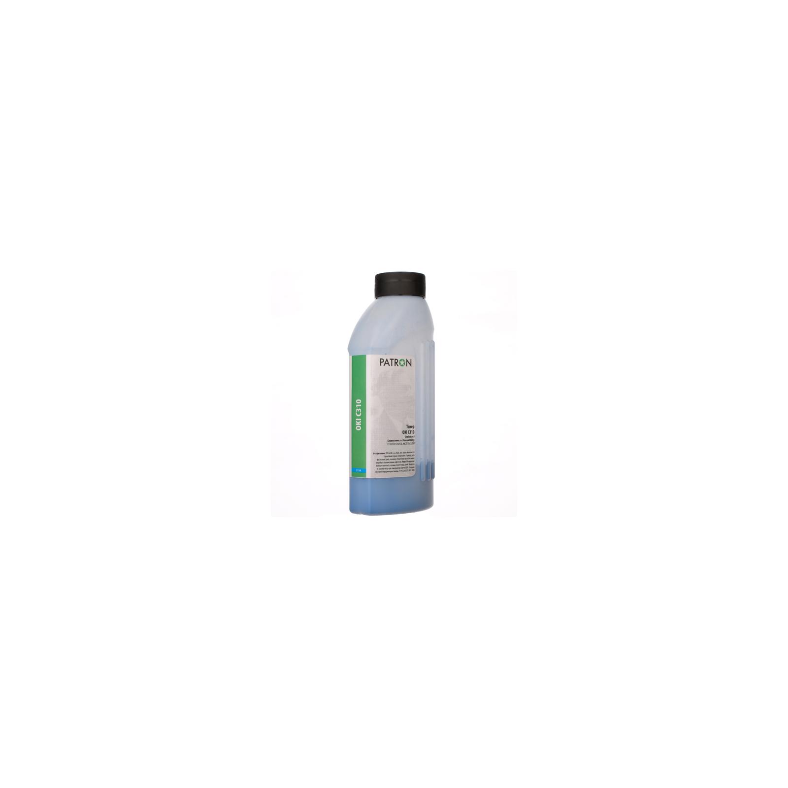 Тонер PATRON OKI C310 CYAN 50г (T-PN-OC310-C-050)
