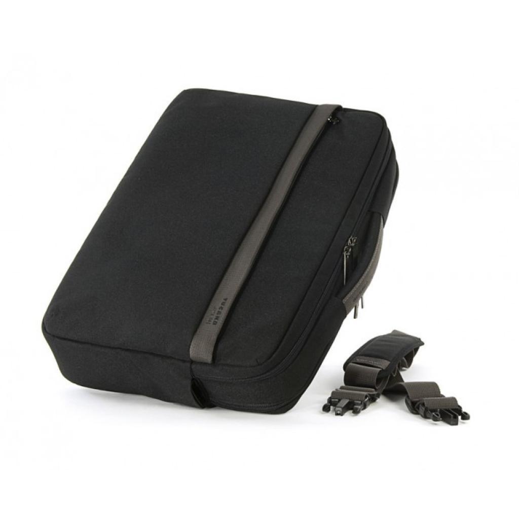 "Сумка для ноутбука Tucano 15.6"" Ultra Large /Black (BUL) изображение 5"