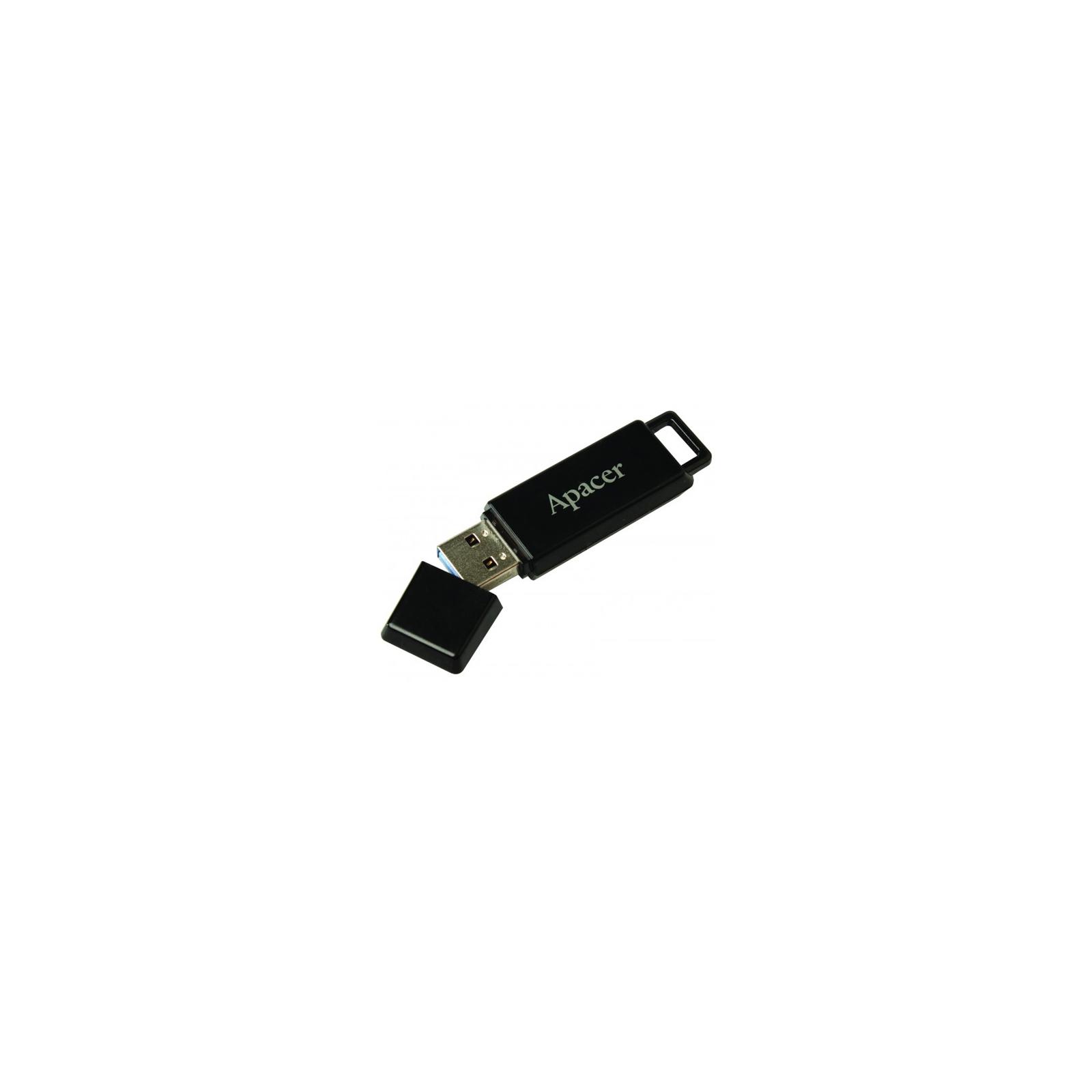 USB флеш накопитель 32GB AH352 Black RP USB3.0 Apacer (AP32GAH352B-1) изображение 4