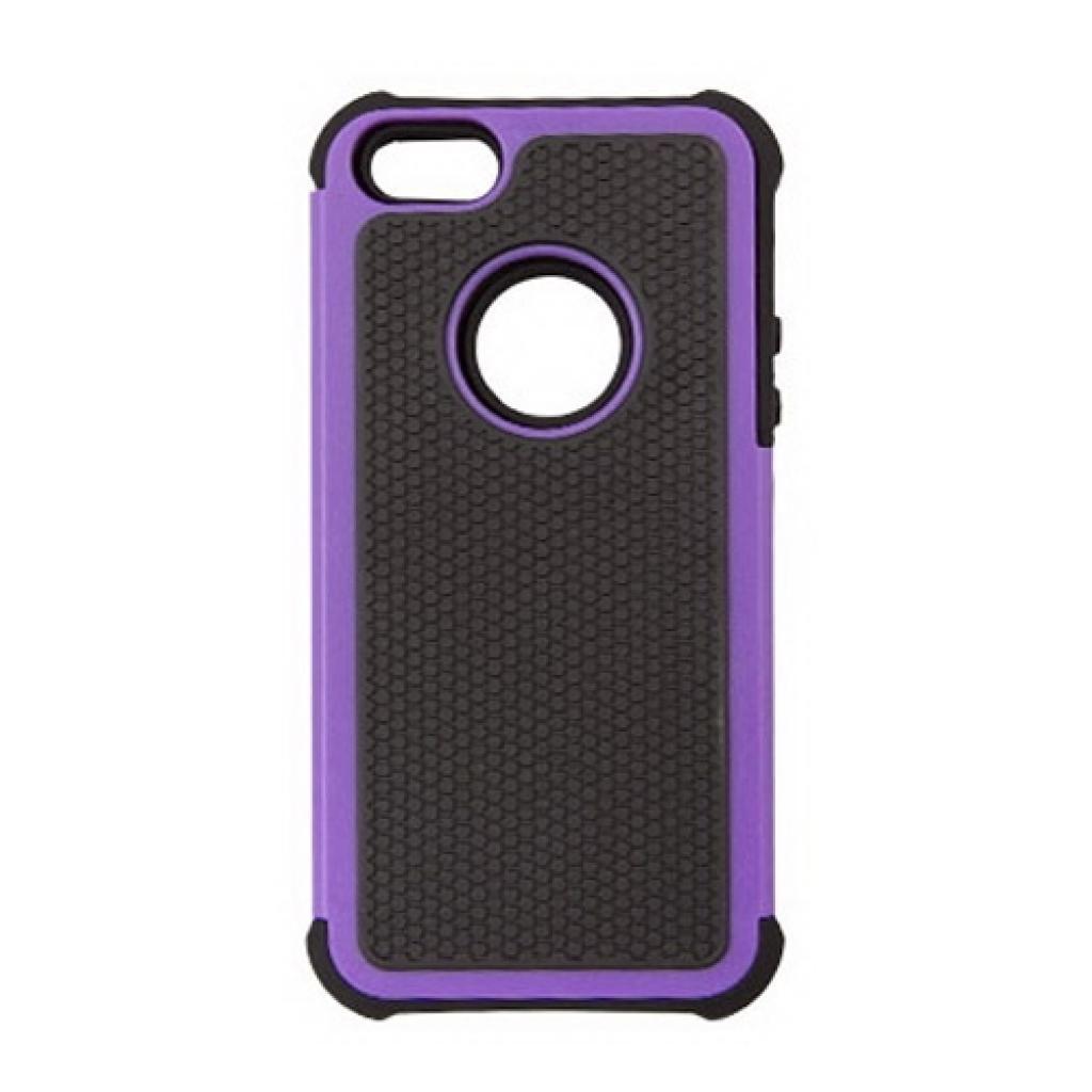 Чехол для моб. телефона Drobak для Apple Iphone 5/Anti-Shock/Purple (210260)