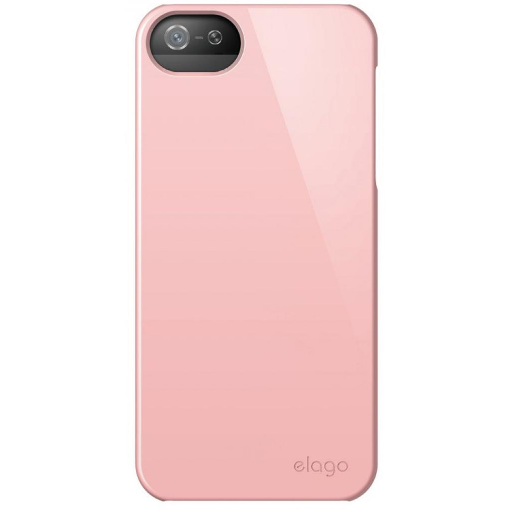Чехол для моб. телефона ELAGO для iPhone 5 /Slim Fit 2 Glossy/Lovely Pink (ELS5SM2-UVLPK-RT) изображение 3