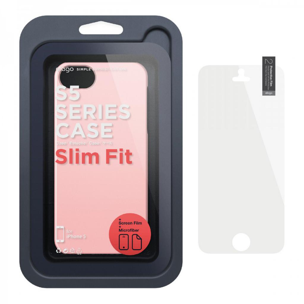 Чехол для моб. телефона ELAGO для iPhone 5 /Slim Fit 2 Glossy/Lovely Pink (ELS5SM2-UVLPK-RT) изображение 6