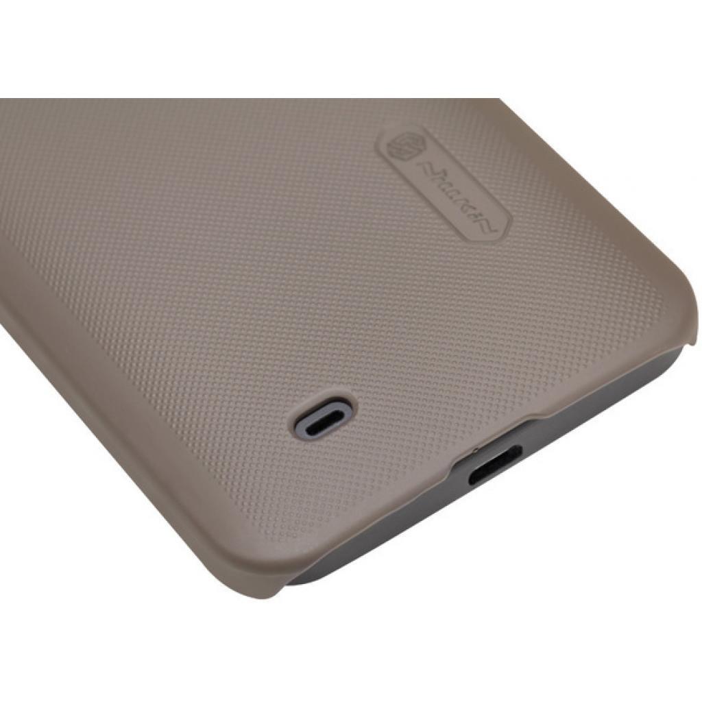 Чехол для моб. телефона NILLKIN для HTC Desire 300 /Super Frosted Shield/Brown (6103976) изображение 5
