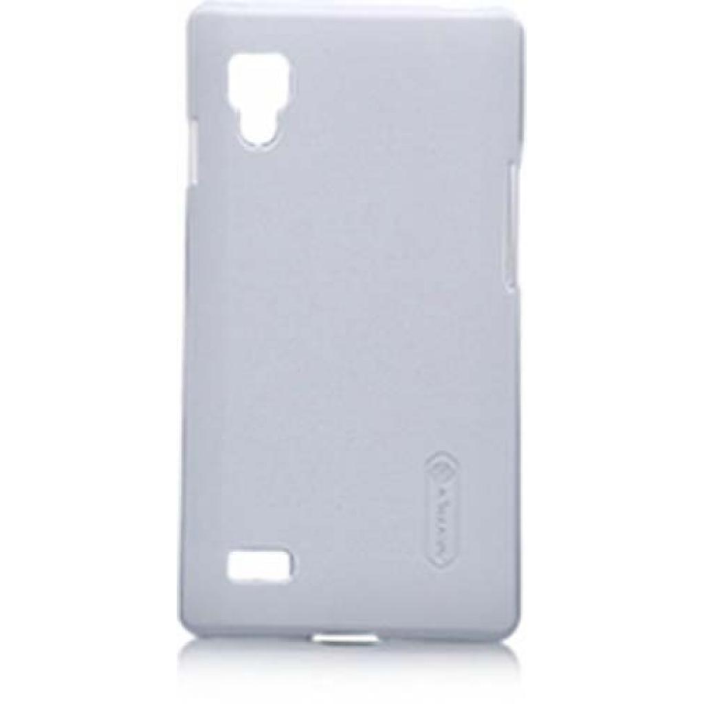 Чехол для моб. телефона NILLKIN для LG P765 L9 /Super Frosted Shield/White (6065763)