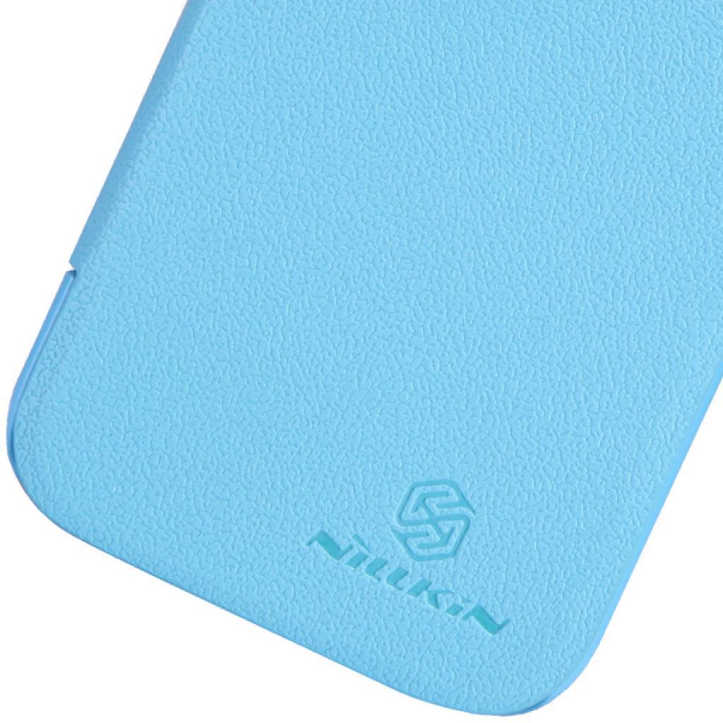 Чехол для моб. телефона NILLKIN для Samsung I8552 /Fresh/ Leather/Blue (6065840) изображение 3