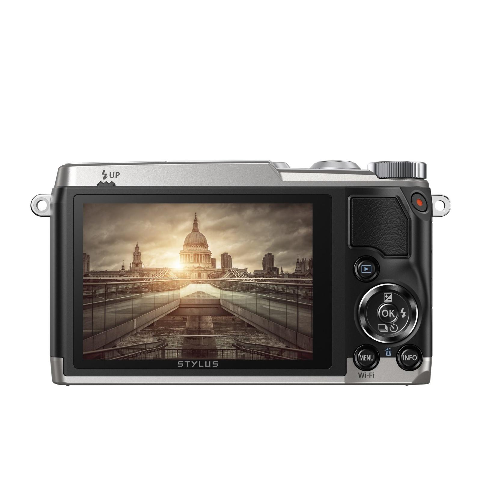 Цифровой фотоаппарат OLYMPUS SH-1 Silver (V107080SE000) изображение 4
