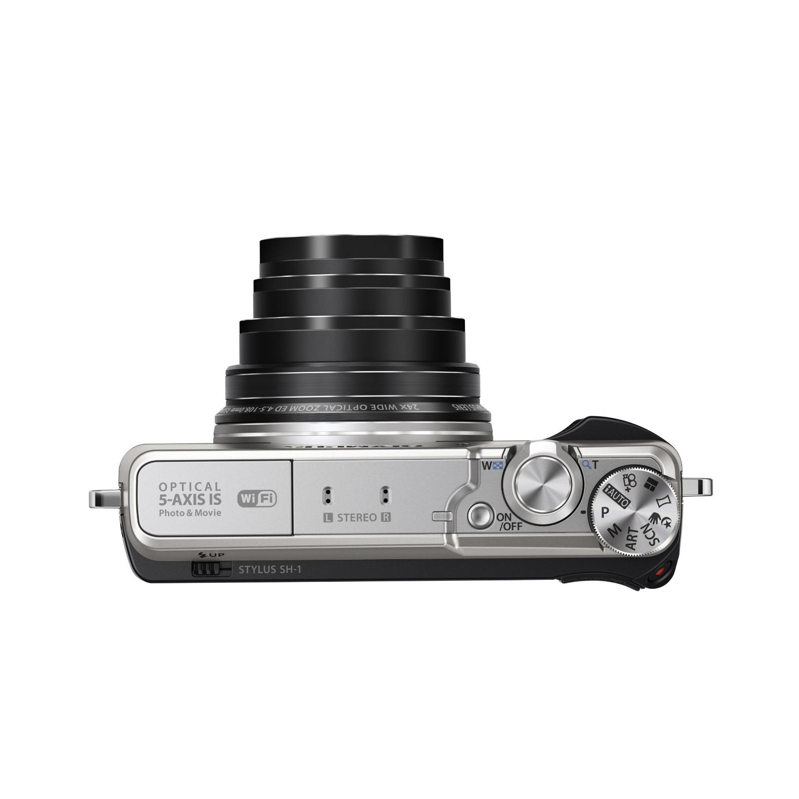 Цифровой фотоаппарат OLYMPUS SH-1 Silver (V107080SE000) изображение 5