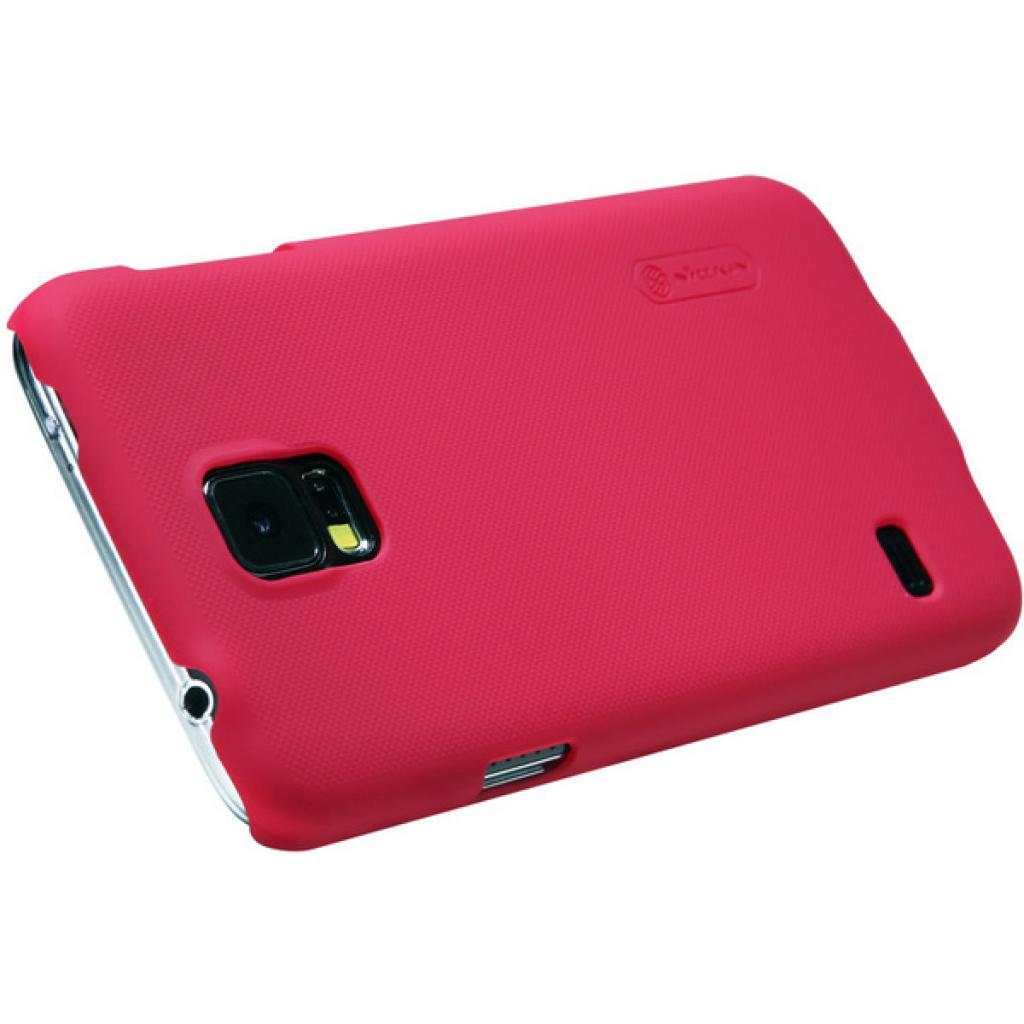 Чехол для моб. телефона NILLKIN для Samsung G900/S-5/Super Frosted Shield/Red (6135238) изображение 2