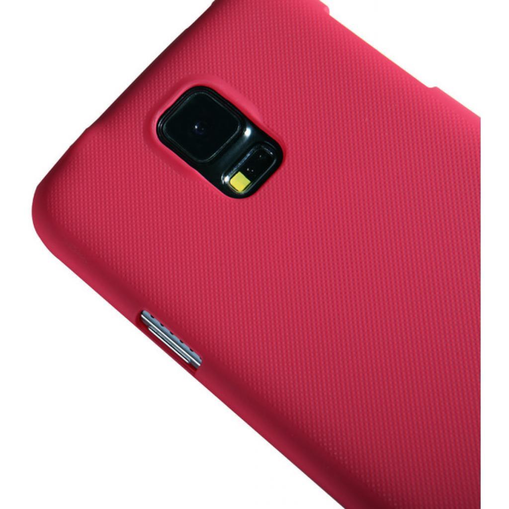 Чехол для моб. телефона NILLKIN для Samsung G900/S-5/Super Frosted Shield/Red (6135238) изображение 4
