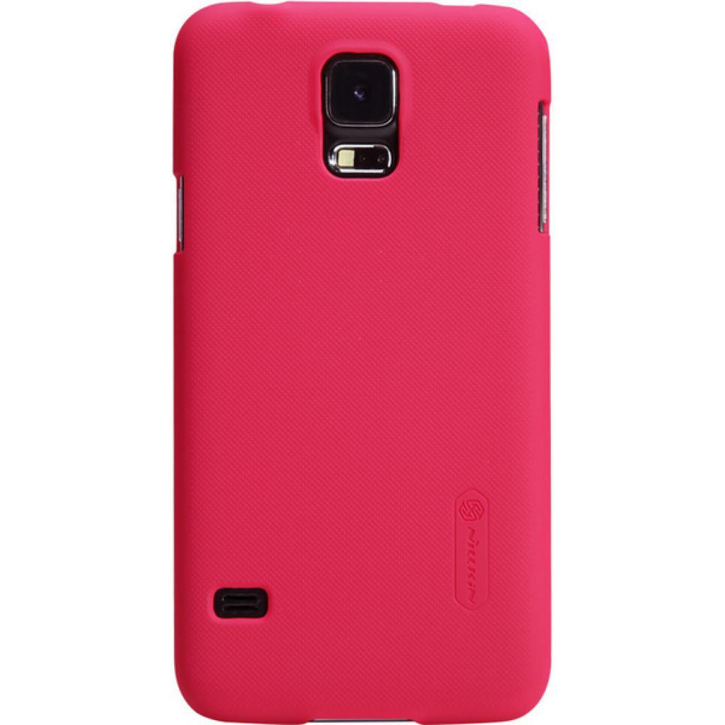 Чехол для моб. телефона NILLKIN для Samsung G900/S-5/Super Frosted Shield/Red (6135238)