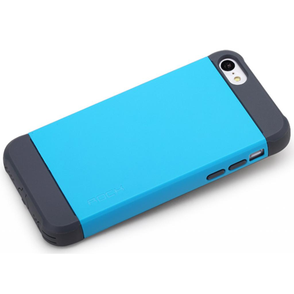 Чехол для моб. телефона Rock iPhone 5C Shield series blue (iPhone 5C-51991) изображение 2