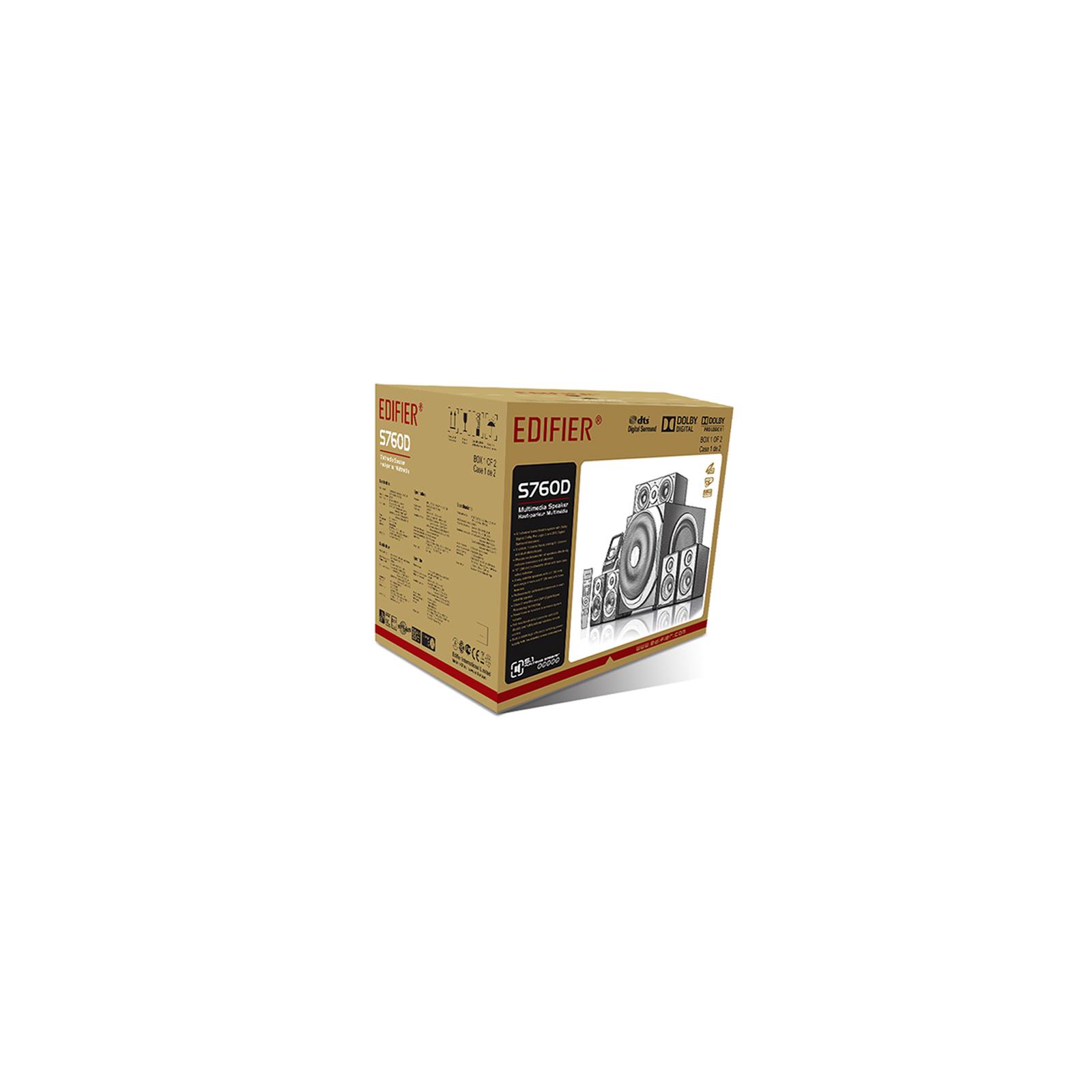 Акустическая система Edifier S760D изображение 7