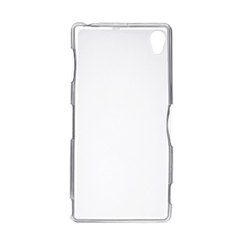 Чехол для моб. телефона Drobak для Sony Xperia Z3 D6603 White Clear /Elastic PU/ (215823) (215823) изображение 2