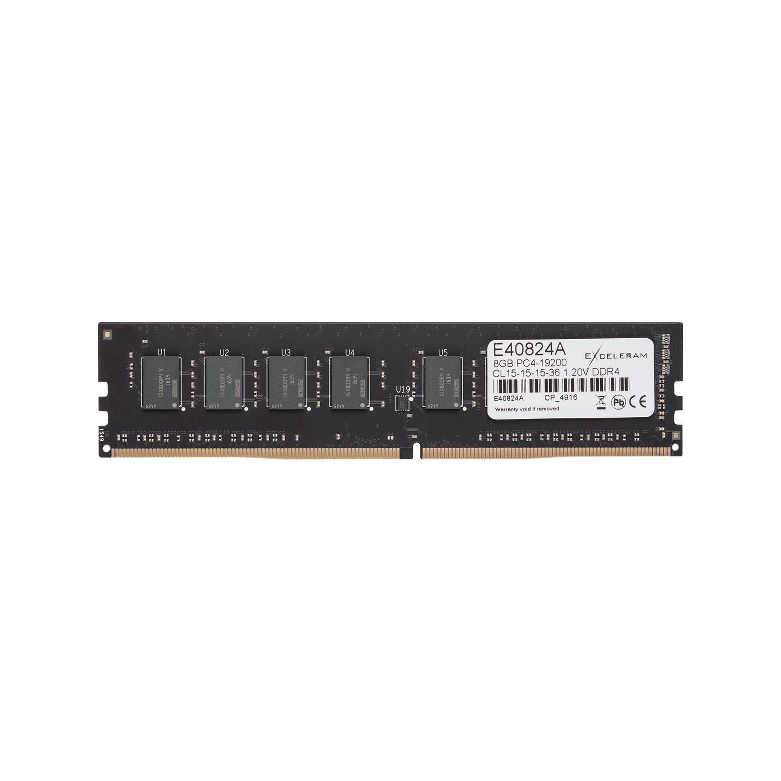 Модуль памяти для компьютера DDR4 8GB 2400 MHz eXceleram (E40824A) изображение 2