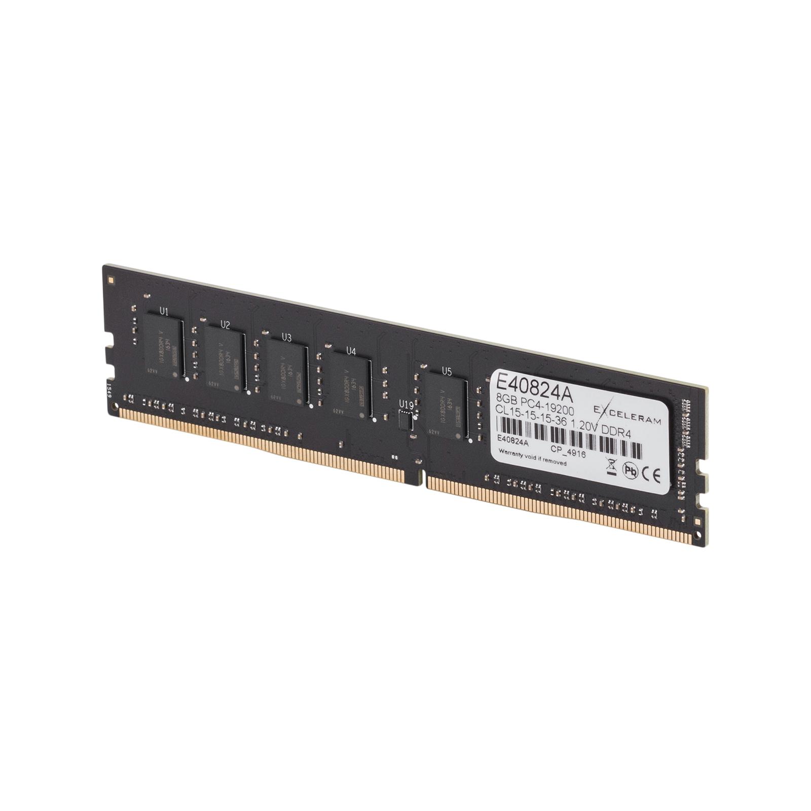 Модуль памяти для компьютера DDR4 8GB 2400 MHz eXceleram (E40824A) изображение 3