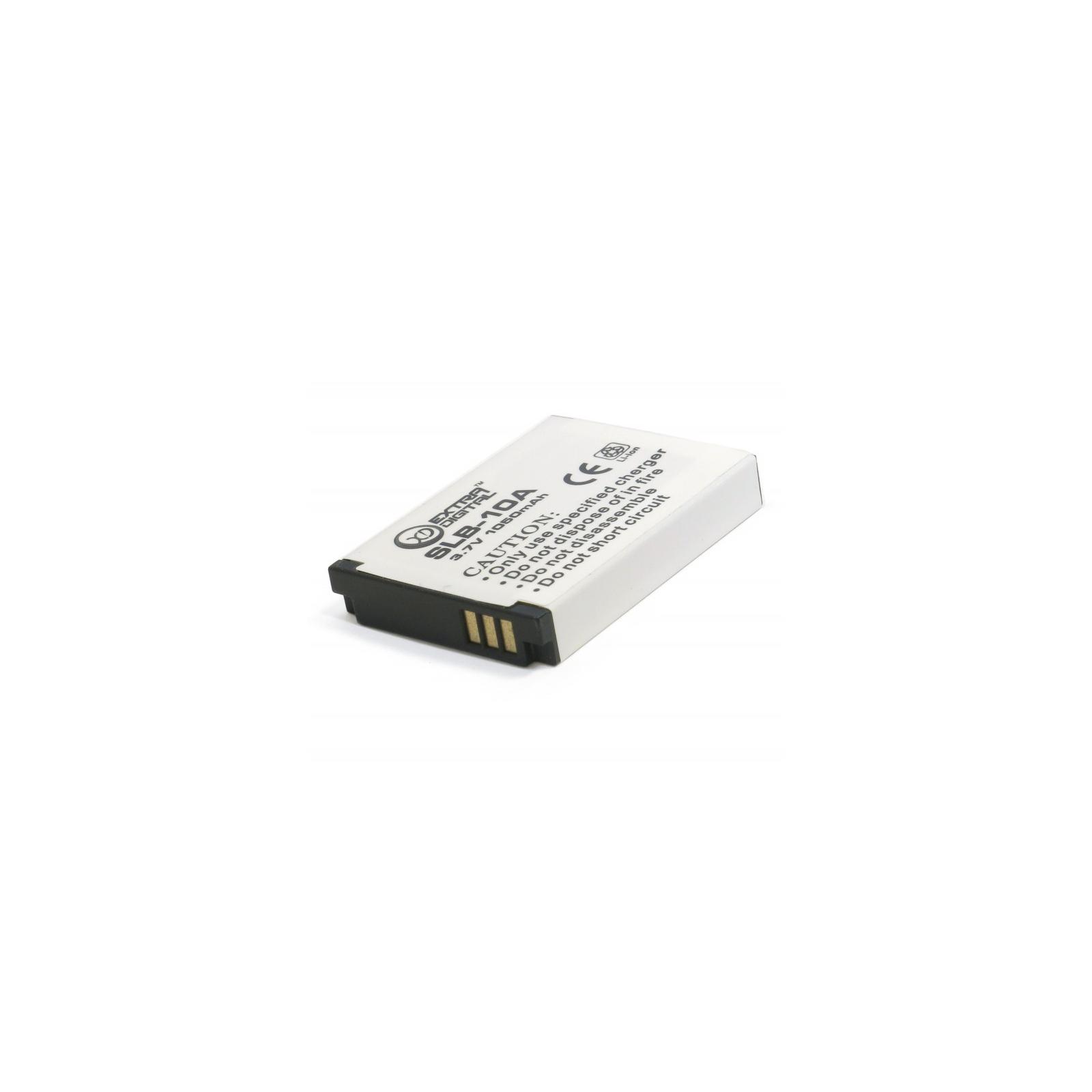 Аккумулятор к фото/видео EXTRADIGITAL Samsung SLB-10A (BDS2633) изображение 4