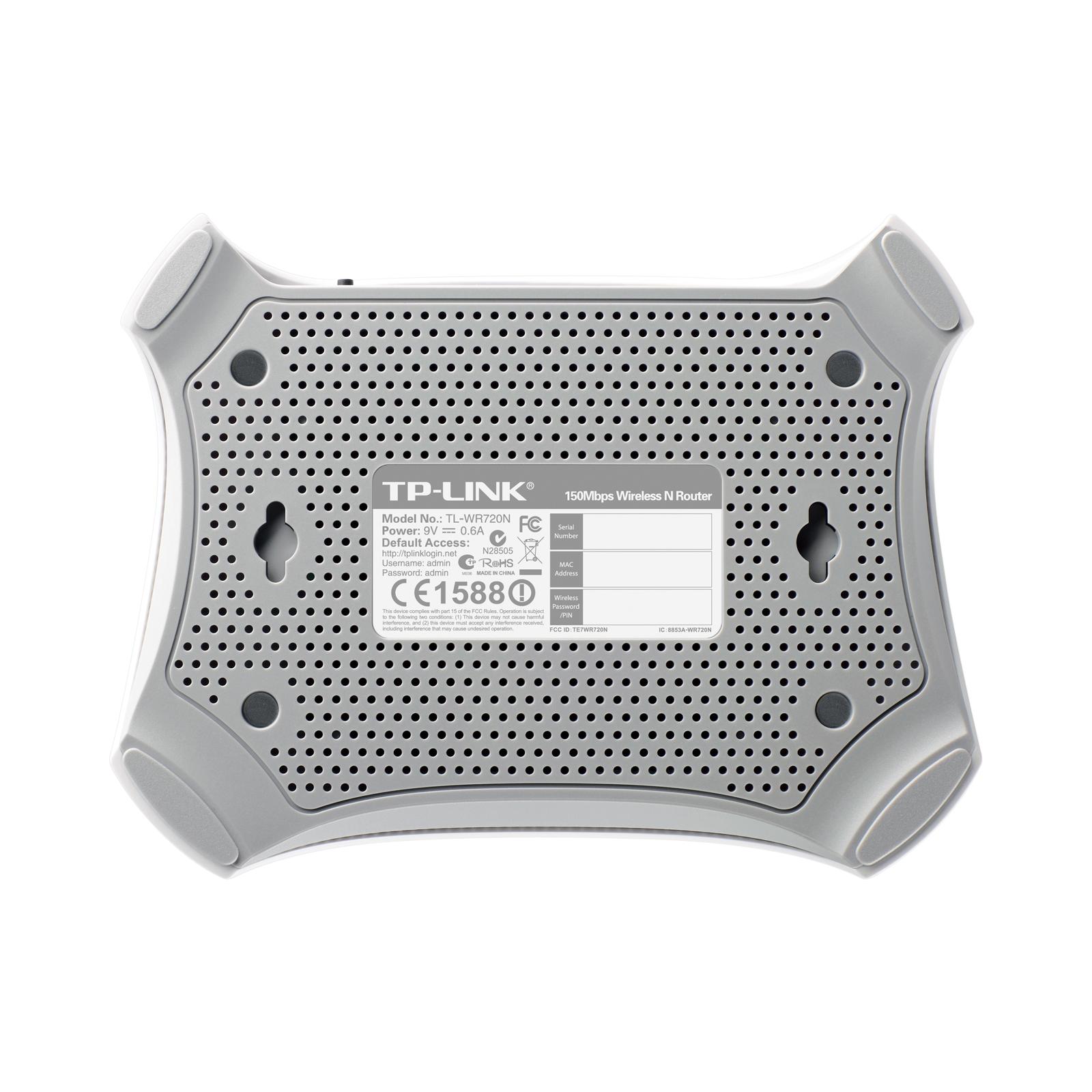 Маршрутизатор TP-Link TL-WR720N V2 изображение 5