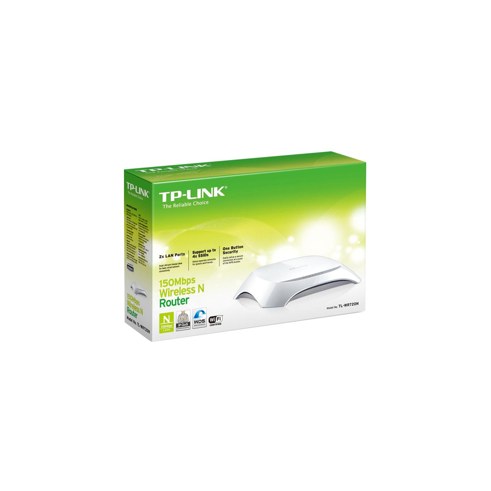 Маршрутизатор TP-Link TL-WR720N V2 изображение 6