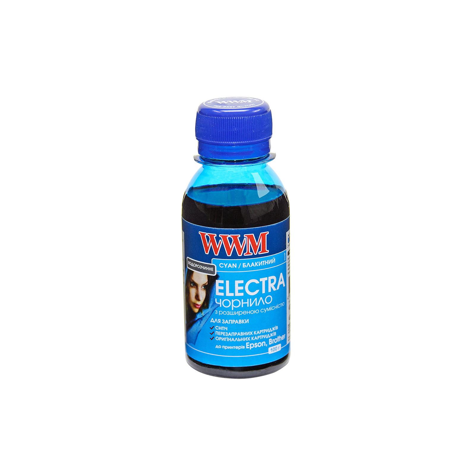 Чернила WWM EPSON UNIVERSAL ELECTRA 100ml Cyan (EU/C-2)