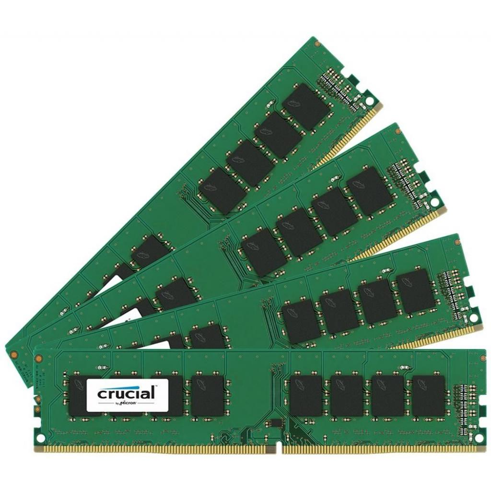 Модуль памяти для компьютера DDR4 64GB (4x16GB) 2133 MHz Micron (CT4K16G4DFD8213)