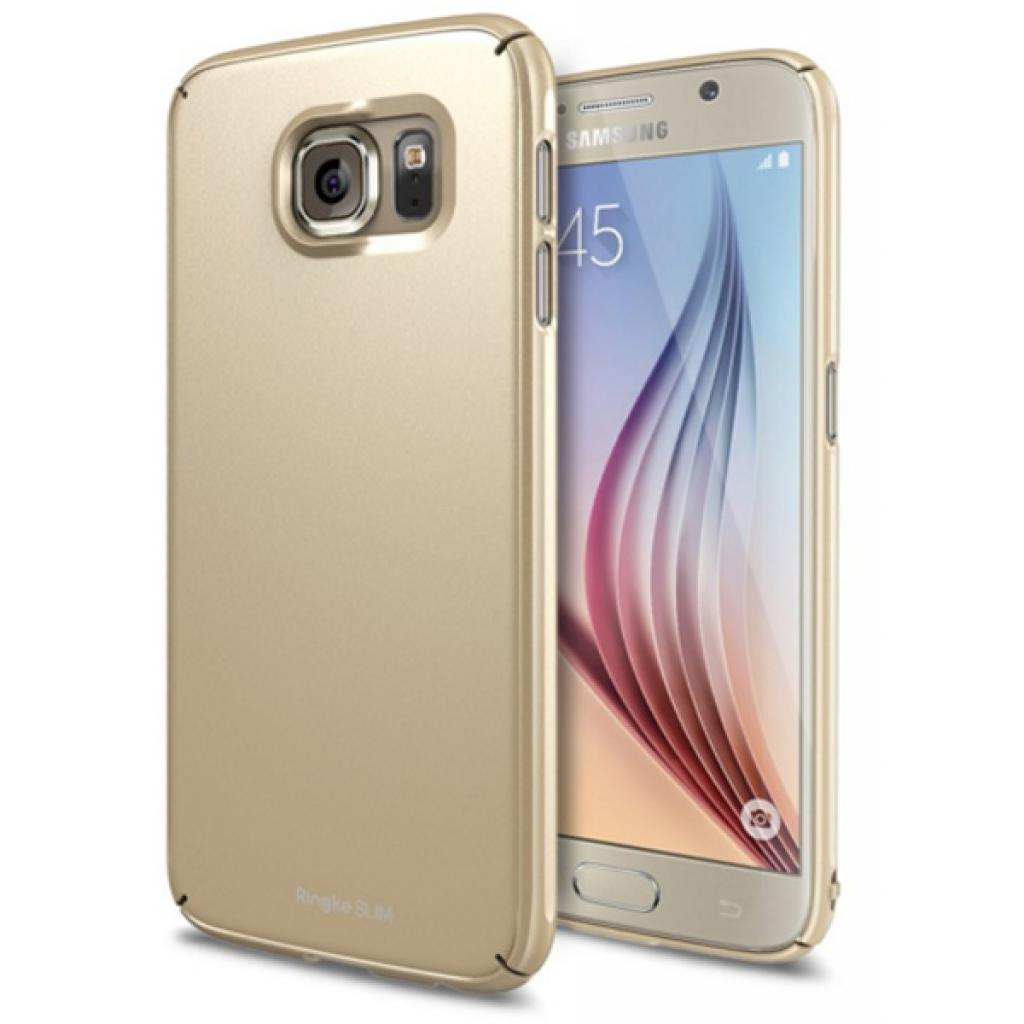 Чехол для моб. телефона Ringke Slim для Samsung Galaxy S6 (Royal Gold) (554928) изображение 2