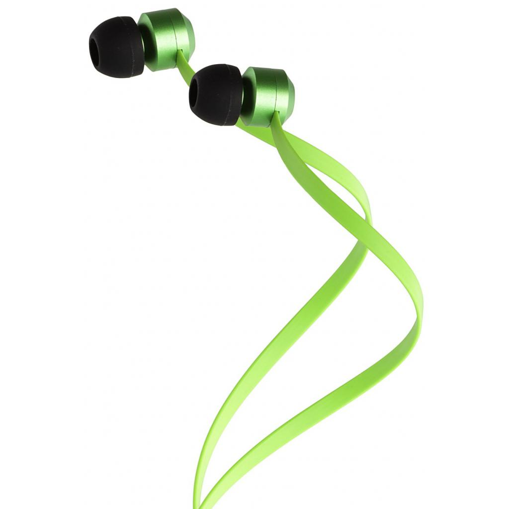 Наушники KitSound KS Ribbons In-Ear Earphones with Mic Green (KSRIBGN) изображение 5