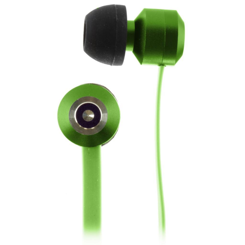 Наушники KitSound KS Ribbons In-Ear Earphones with Mic Green (KSRIBGN) изображение 7