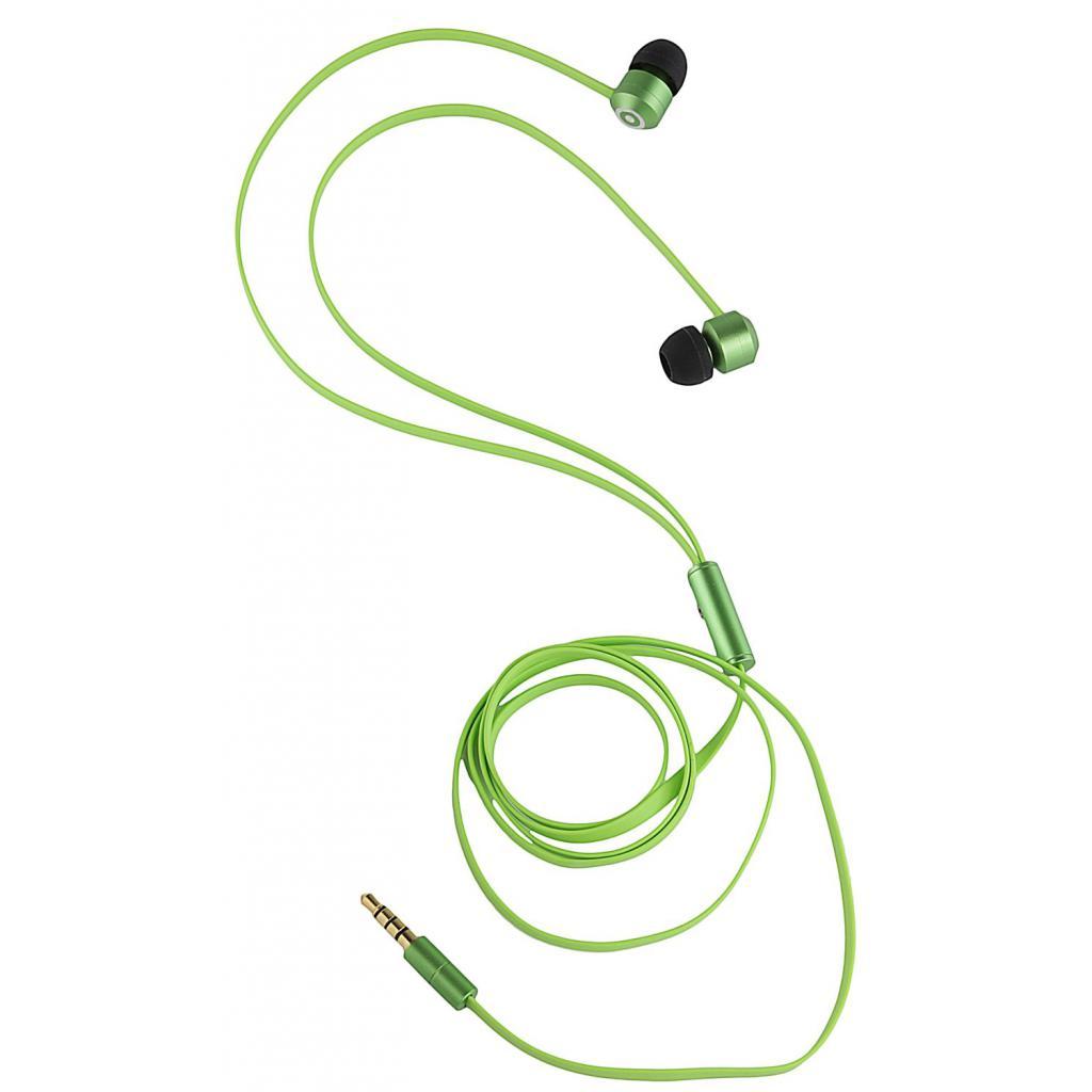 Наушники KitSound KS Ribbons In-Ear Earphones with Mic Green (KSRIBGN) изображение 8