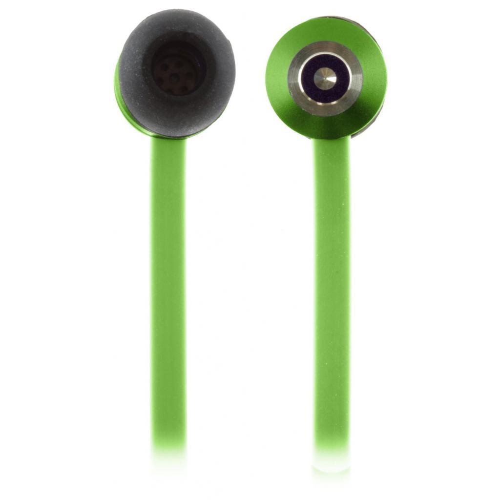 Наушники KitSound KS Ribbons In-Ear Earphones with Mic Green (KSRIBGN) изображение 9